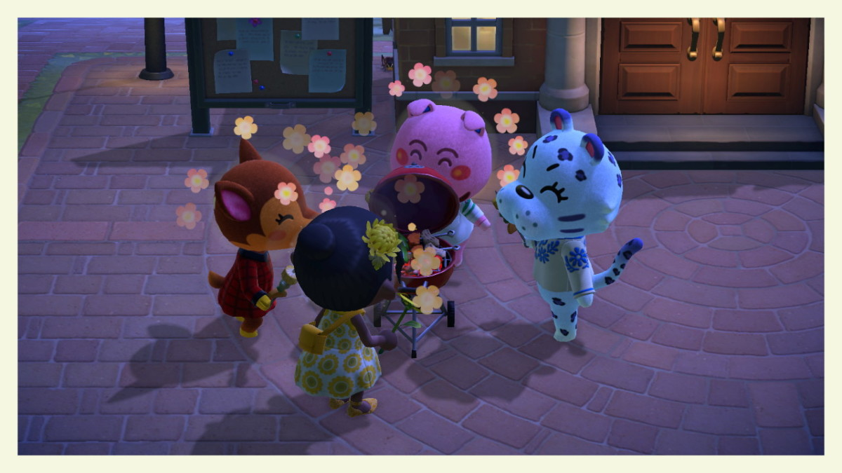 Make sure you talk to your villagers every day.  You can even unlock some Nook Miles Milestones by doing so!