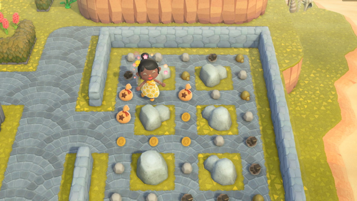 I've made myself a rock garden; took a lot of time, do not recommend.