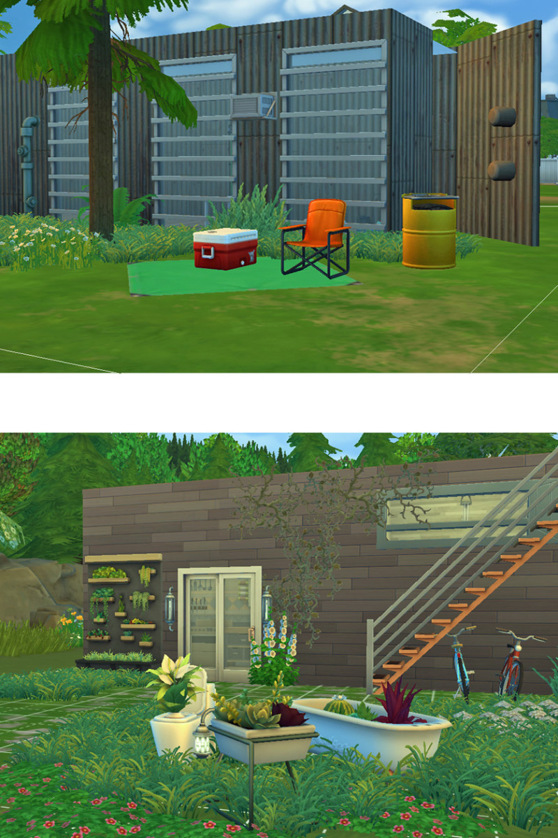 From radically rustic to a quaint container cottage, the possibilities are endless.