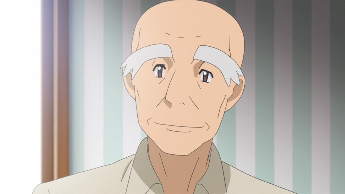 Mr. Fuji in Pokémon Origins