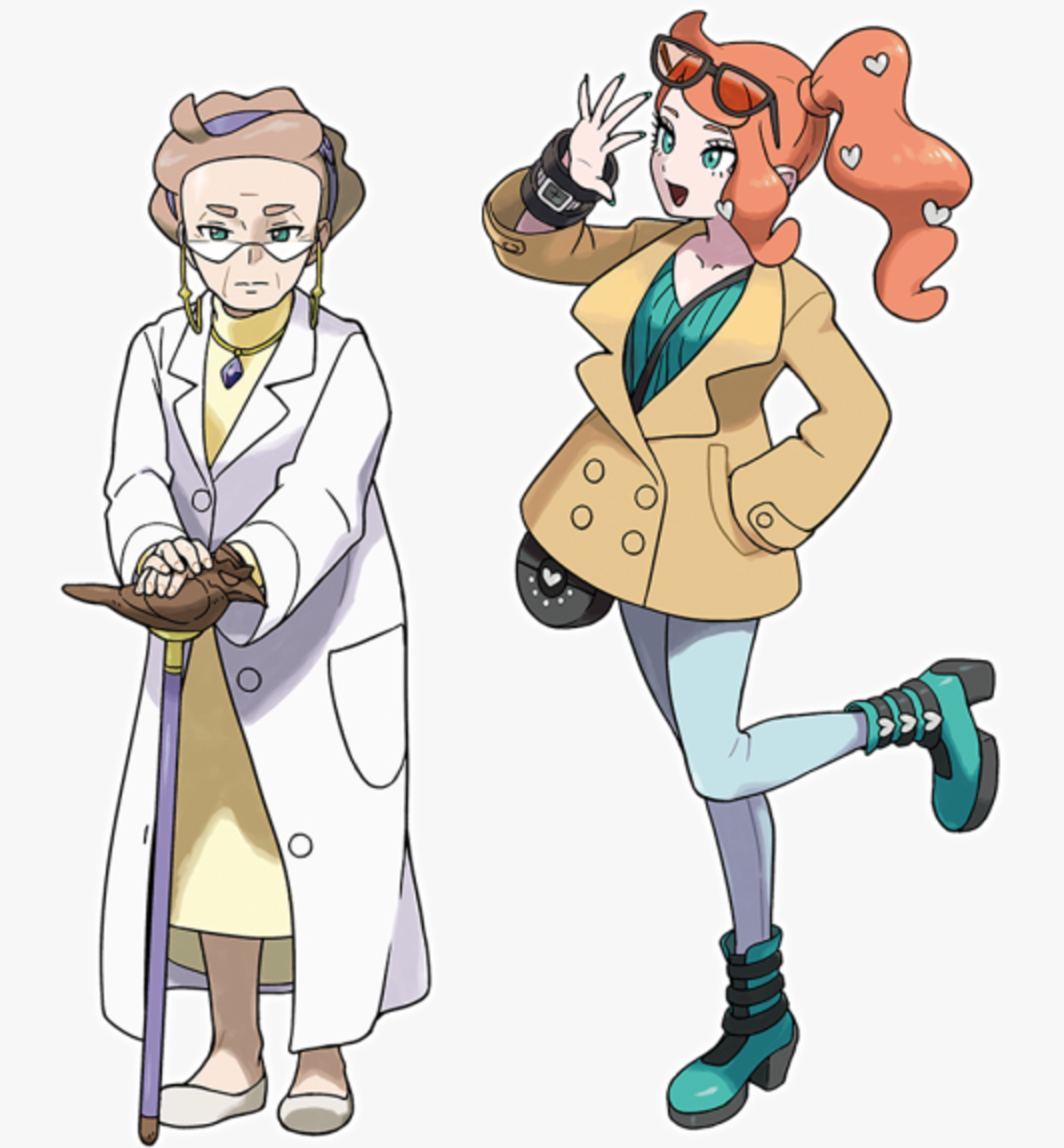 Professor Magnolia and Sonia