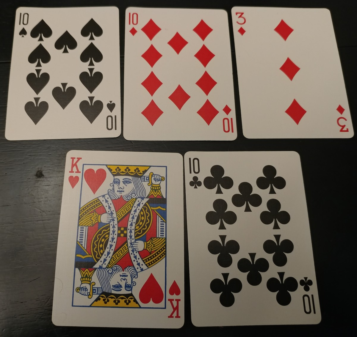 This is a trips hand. I will go all with all trips hands most of the time. I will avoid weaker trips hands, though.
