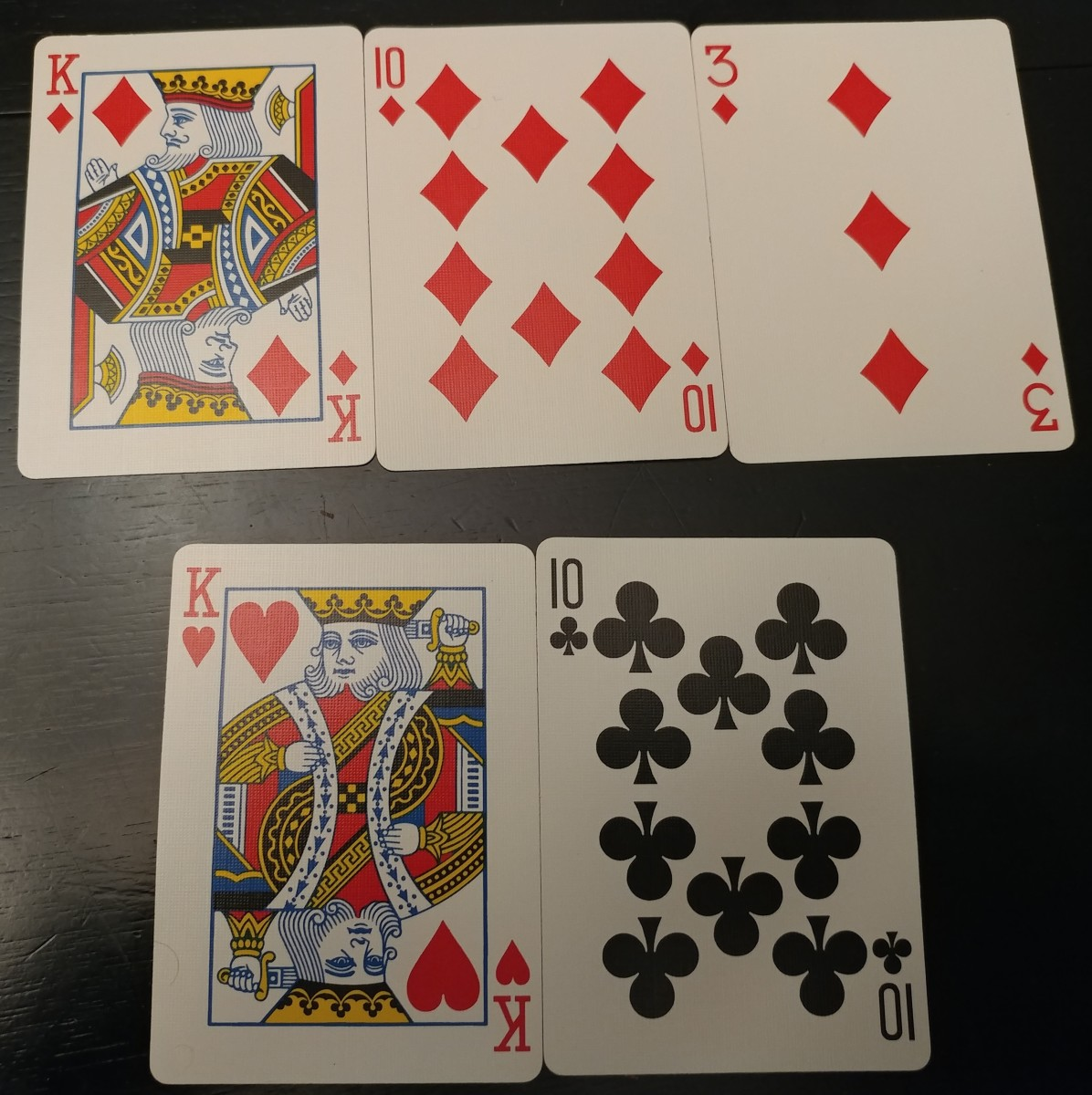 This is a good two pair hand.