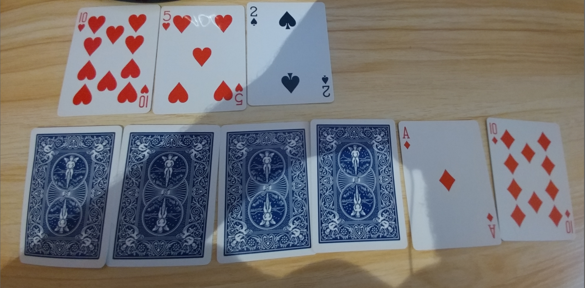 Be careful when many people are playing in a poker hand. You will need to fold weaker hands.
