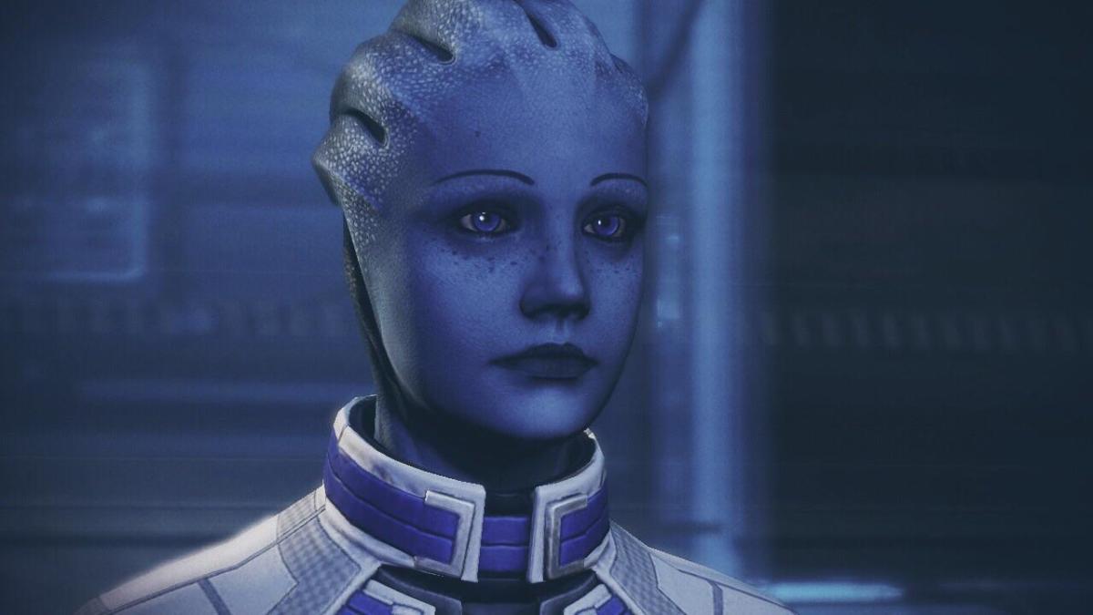 "Liara in ""Mass Effect 2."""