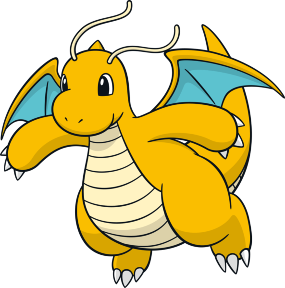 "Dragonite, the ""Dragon"" Pokémon"