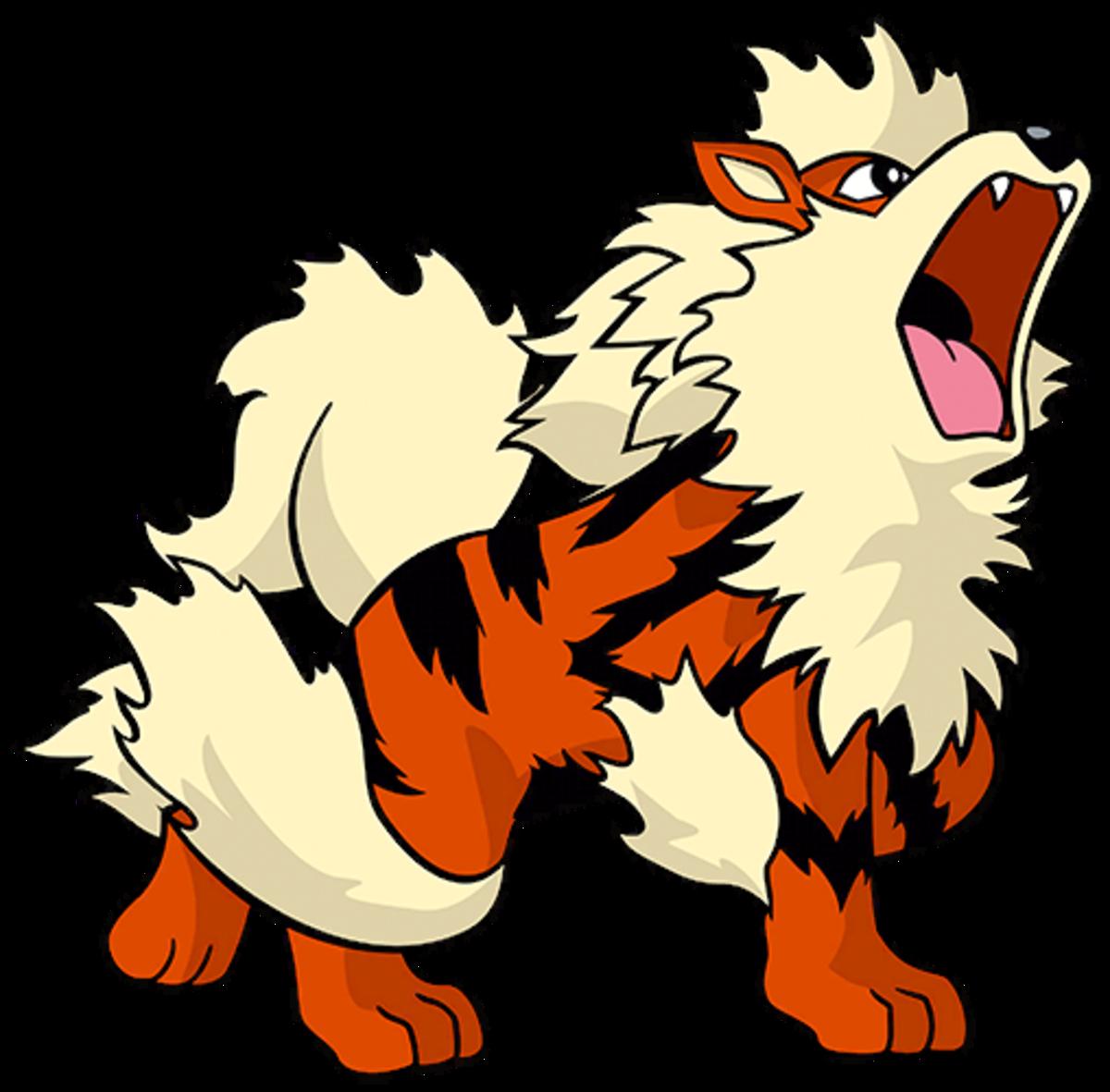 """Arcanine, the """"Legendary"""" Pokémon"""