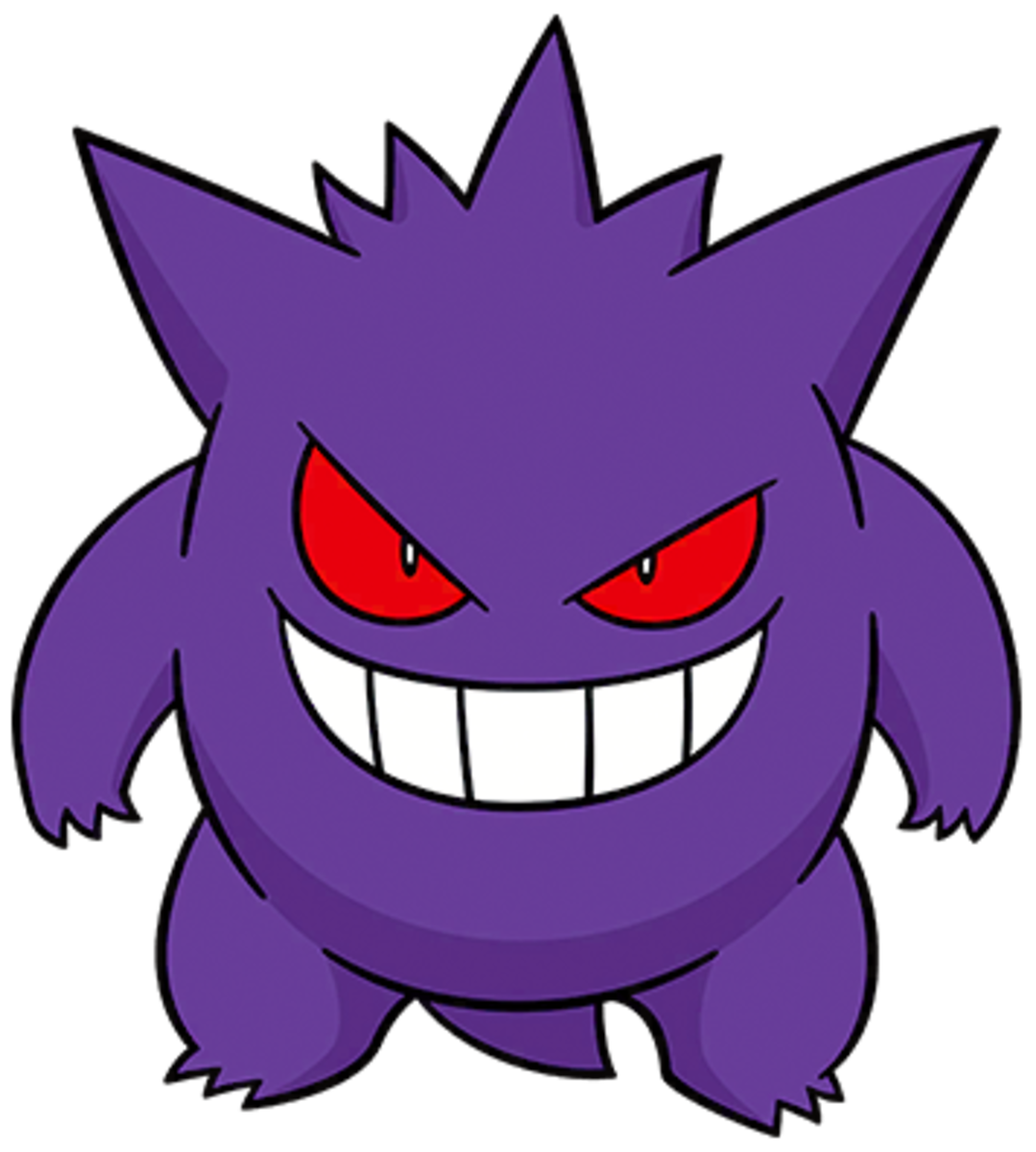 "Gengar, the ""Shadow"" Pokémon"