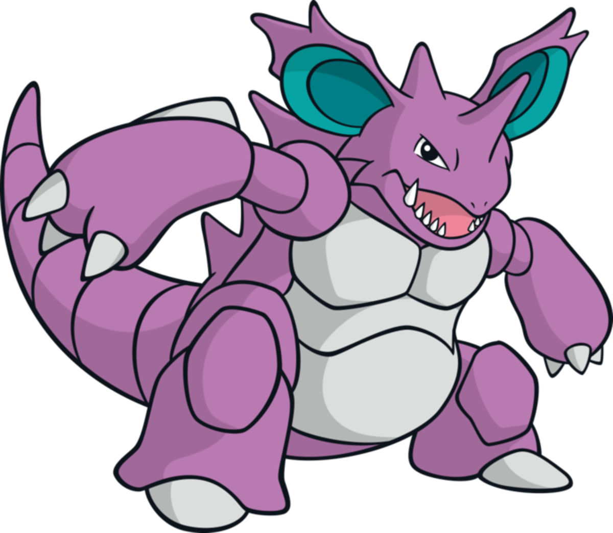 "Nidoking, the ""Drill"" Pokémon"