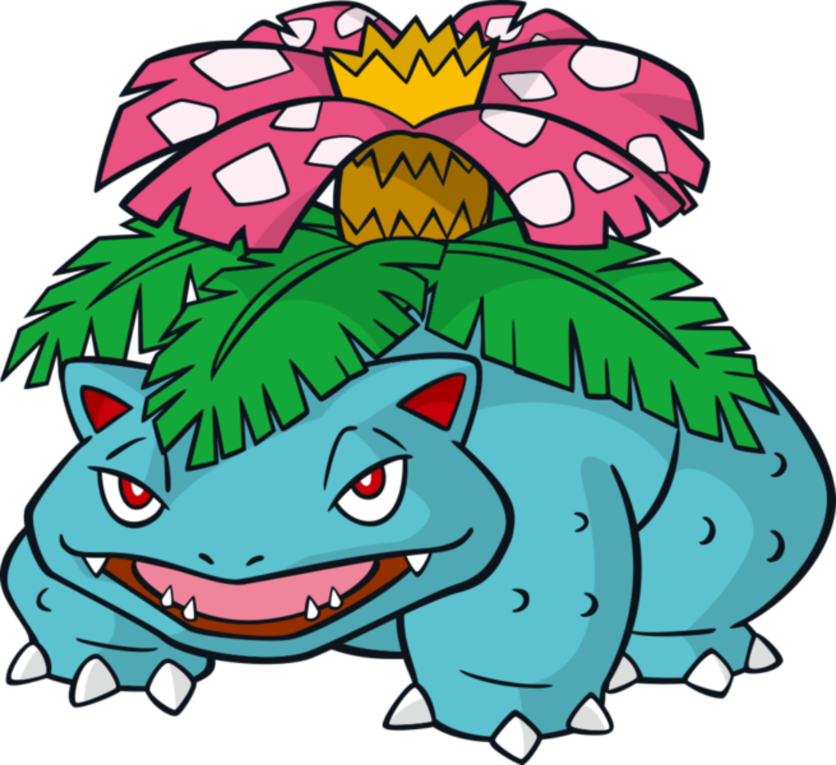 "Venusaur, the ""Seed"" Pokémon"