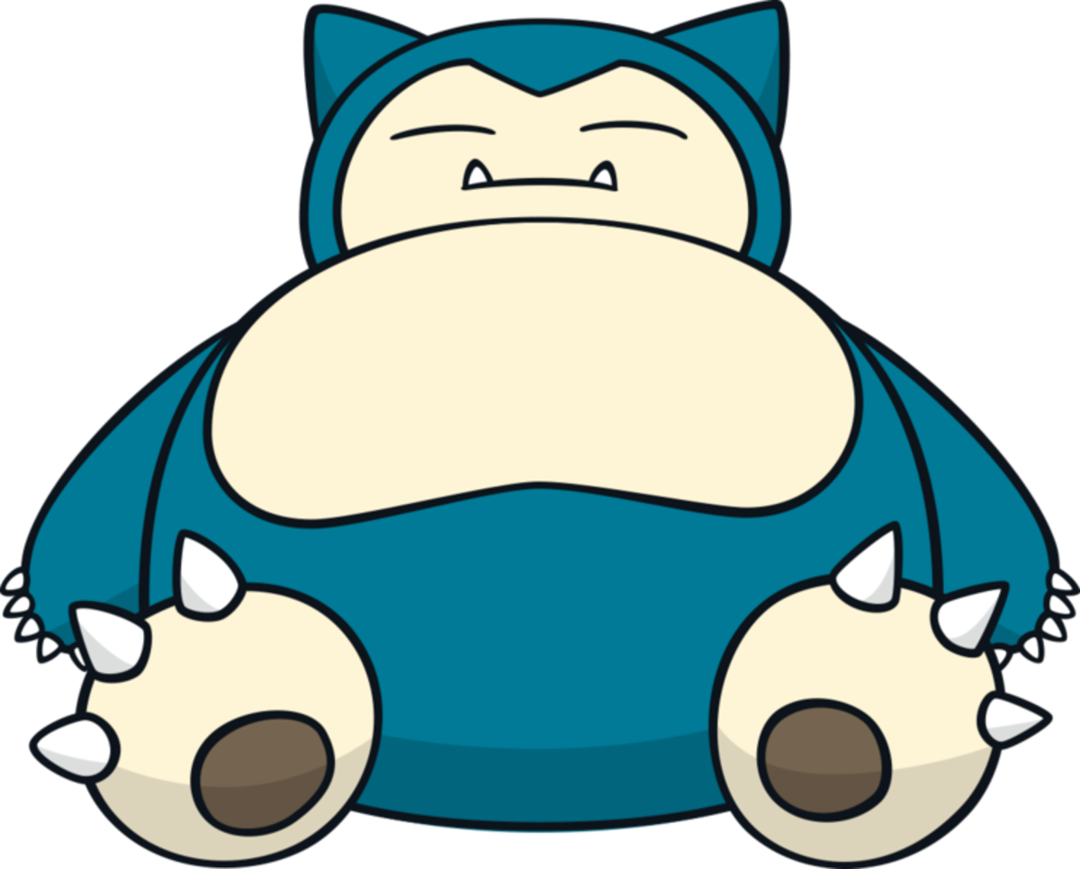 "Snorlax, the ""Sleeping"" Pokémon"