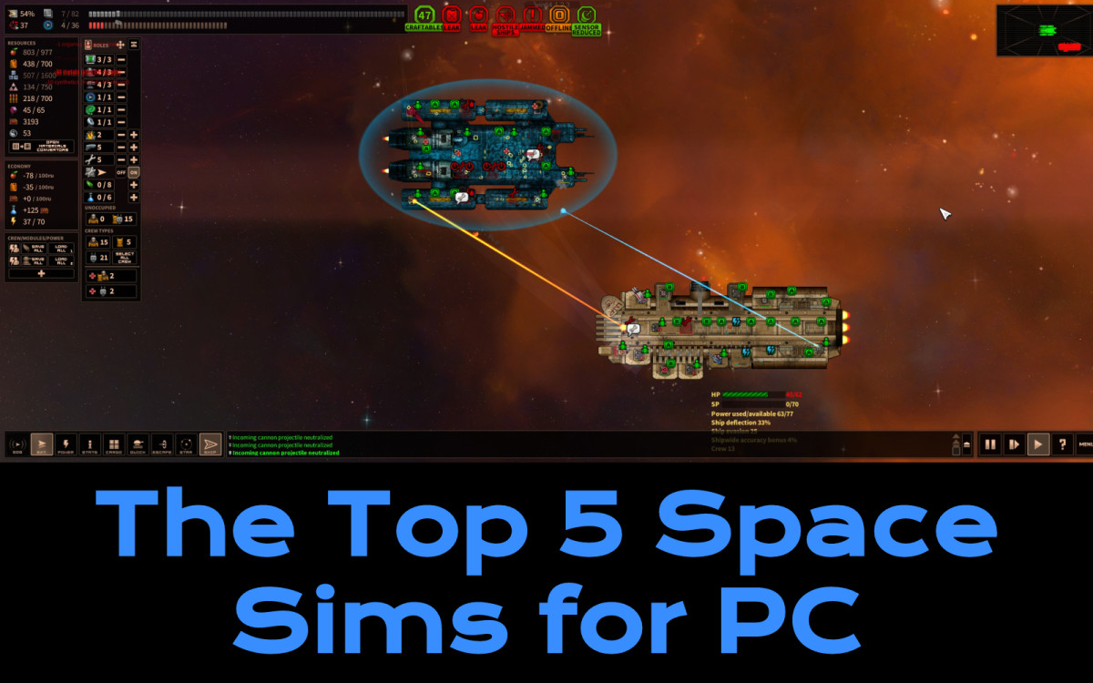 The Top 5 Space Sims for PC