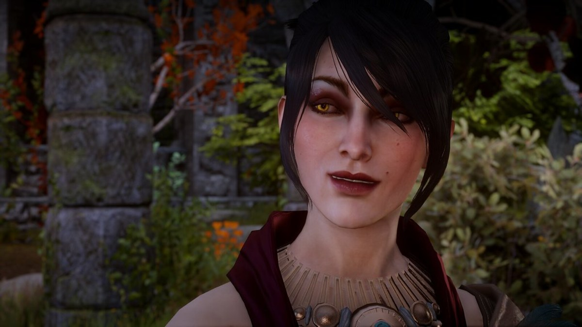 """Morrigan as she appeared in """"Inquisition."""""""