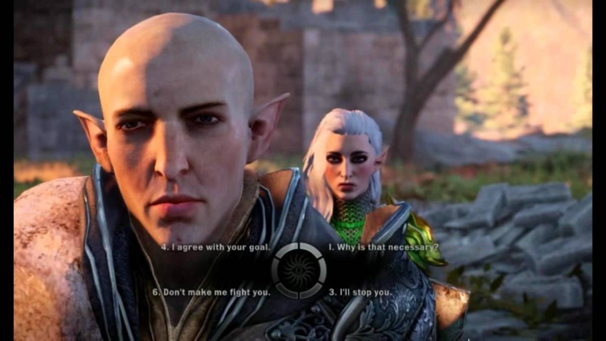 Solas is hideous but his romance is the most popular one. Lmao.