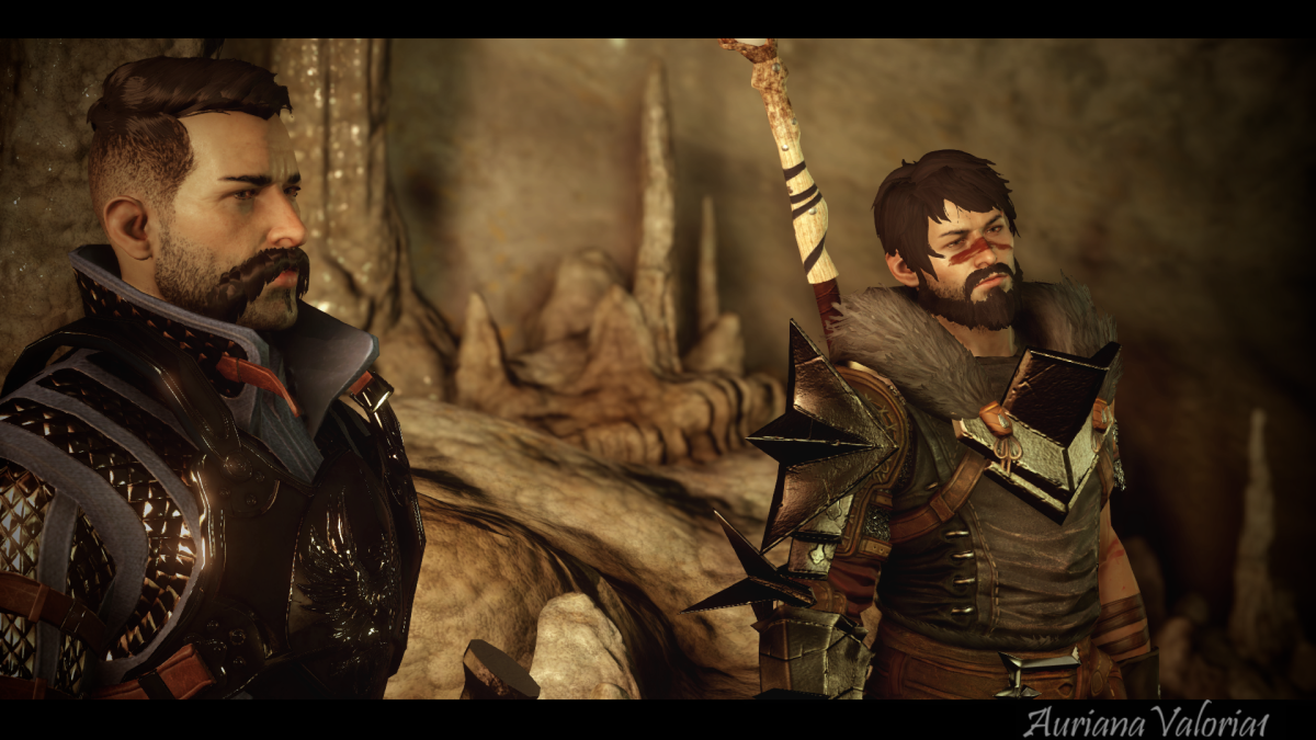 """Stroud and Hawke in the Fade in """"Inquisition."""""""