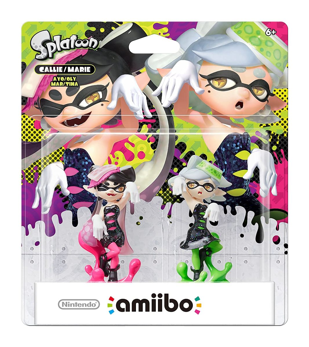 Callie and Marie Amiibo