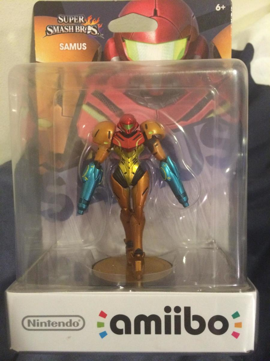 Samus Two Cannons Amiibo