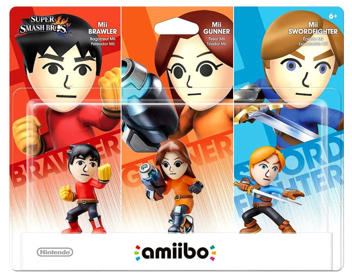 Mii 3 Pack Amiibo