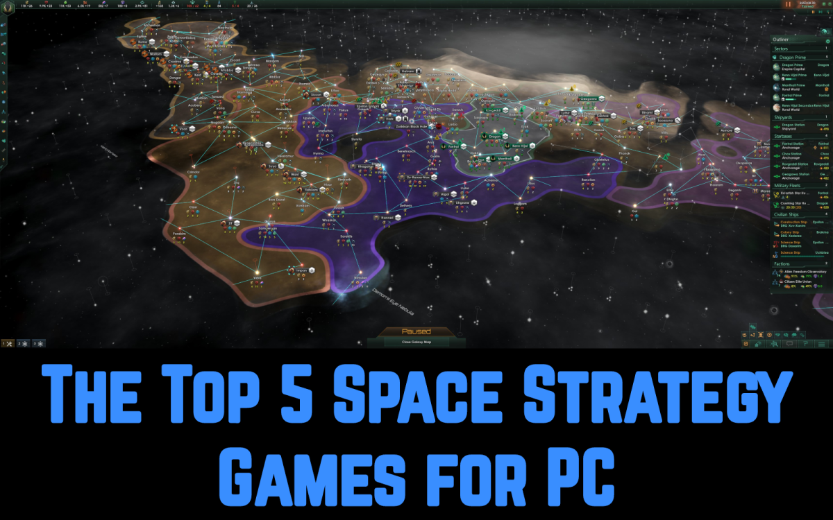 Read on for the best space strategy games for PC!