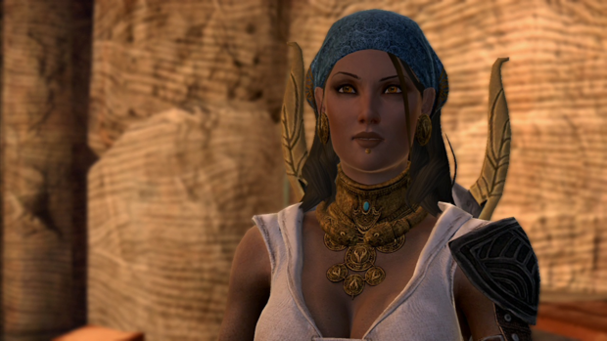 """Isabela as she appeared in """"Dragon Age 2."""""""