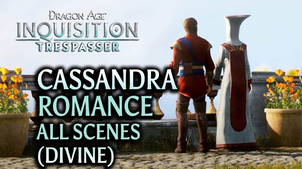 Cassandra as Divine in Trespasser.