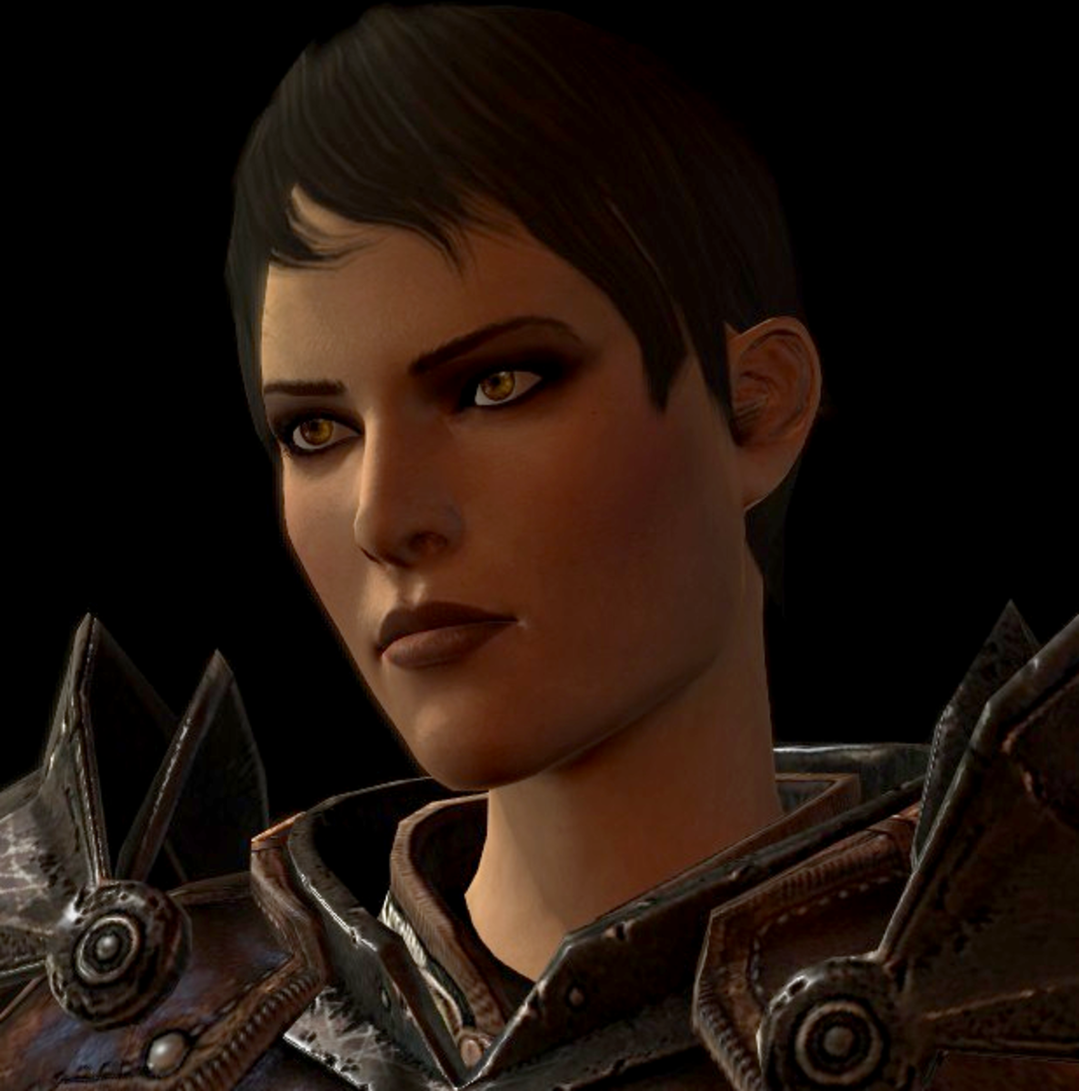 """Cassandra as she appeared in """"Dragon Age 2."""""""