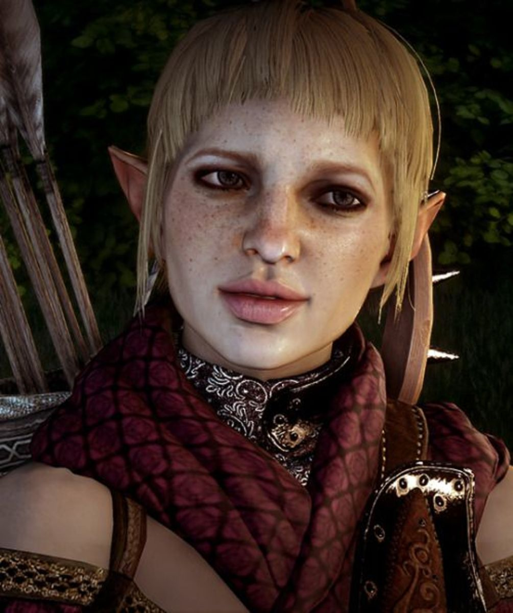 """Sera as she appears in """"Dragon Age: Inquisition."""""""