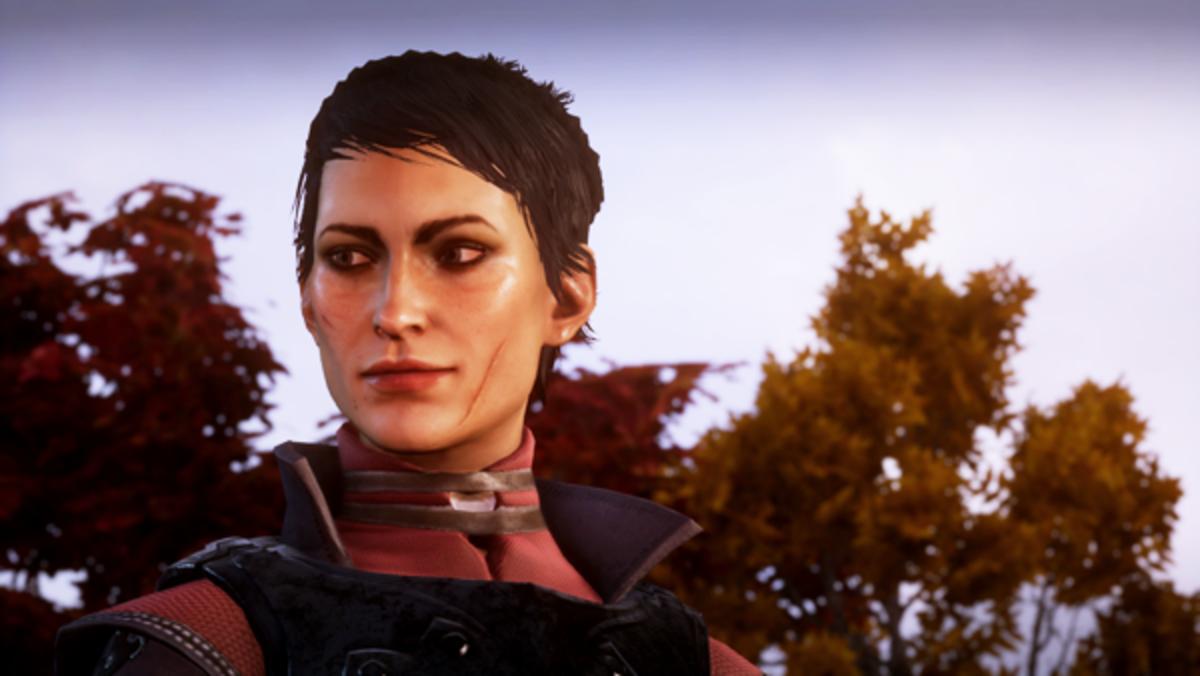 Cassandra smiling.