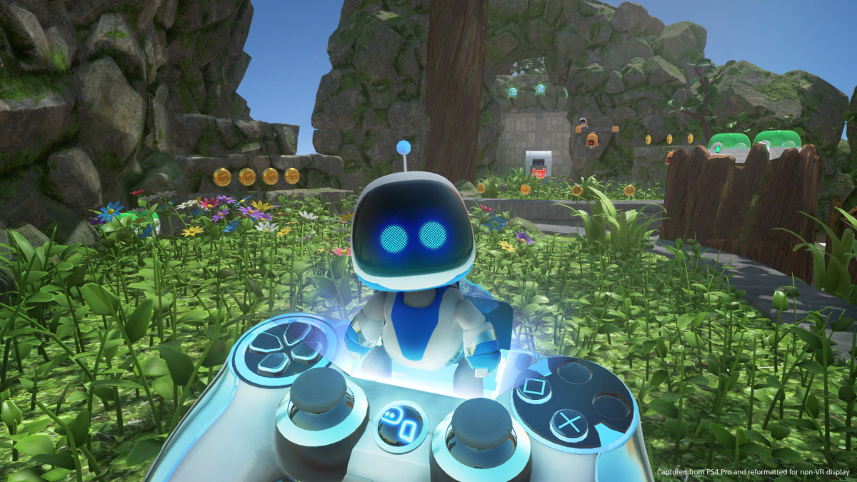 """Astro Bot Rescue Mission"" Screenshot"
