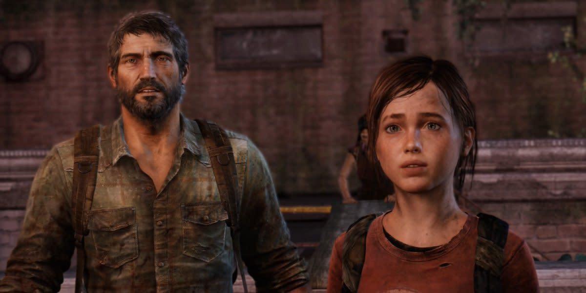 """Joel and Ellie in """"The Last of Us"""""""