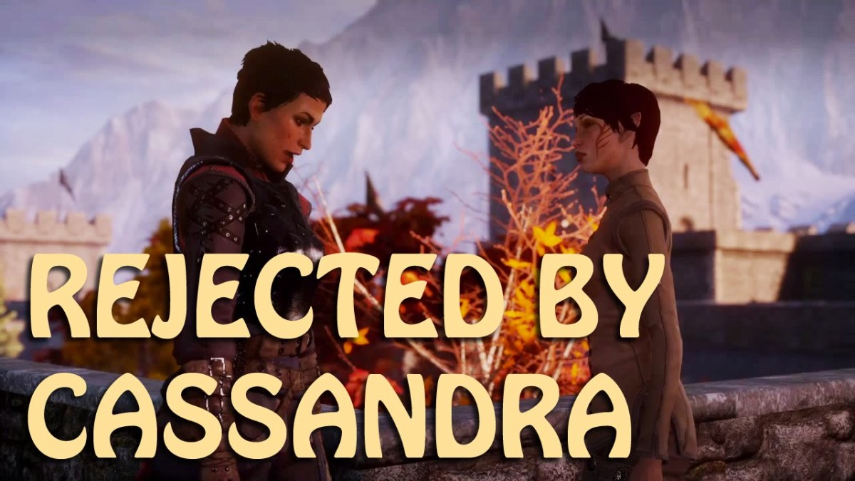 Cassandra will gently reject the female Inquisitor.