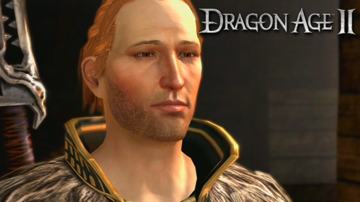 "Anders hits on Hawke in ""Dragon Age 2."""