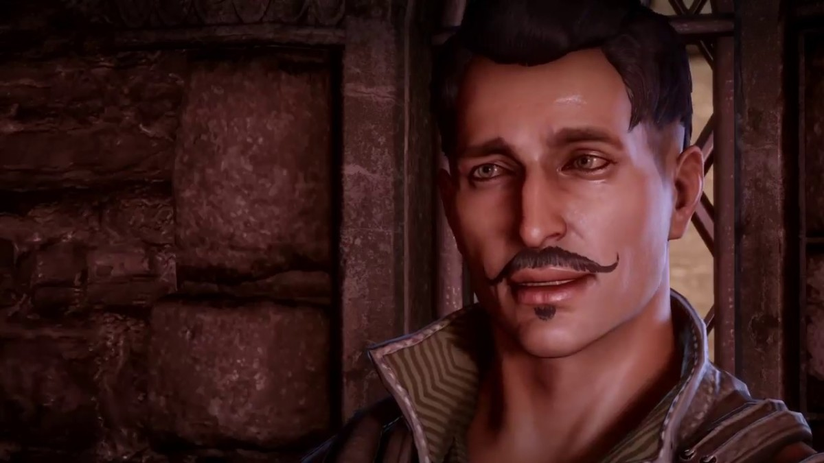 Why do people think Dorian is cute? He looks like he'll tie you to the train tracks with explosives.