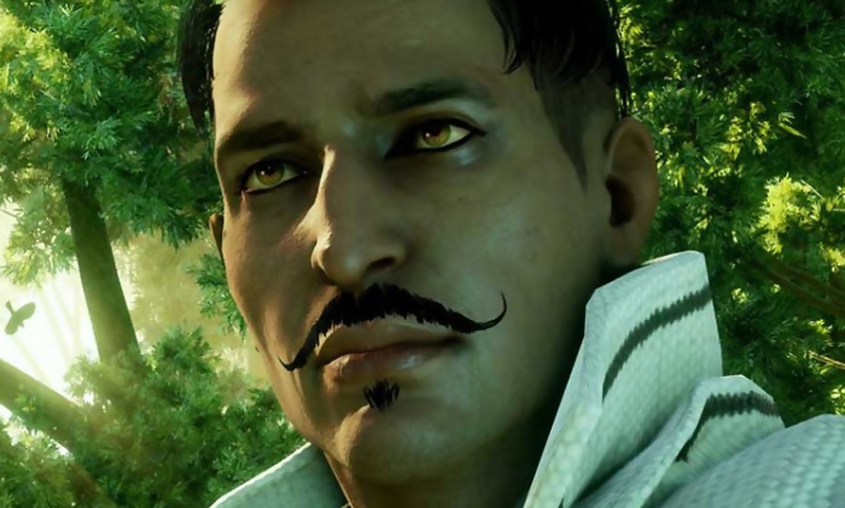 "Dorian from ""Inquisition,"" the first gay male follower."