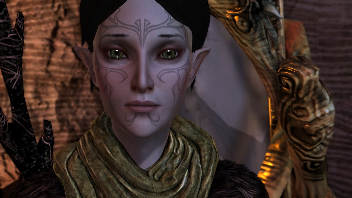 """Merrill in """"Dragon Age 2."""""""