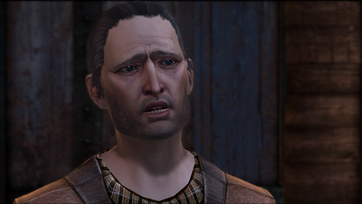 Gamlen, Hawke's uncle.