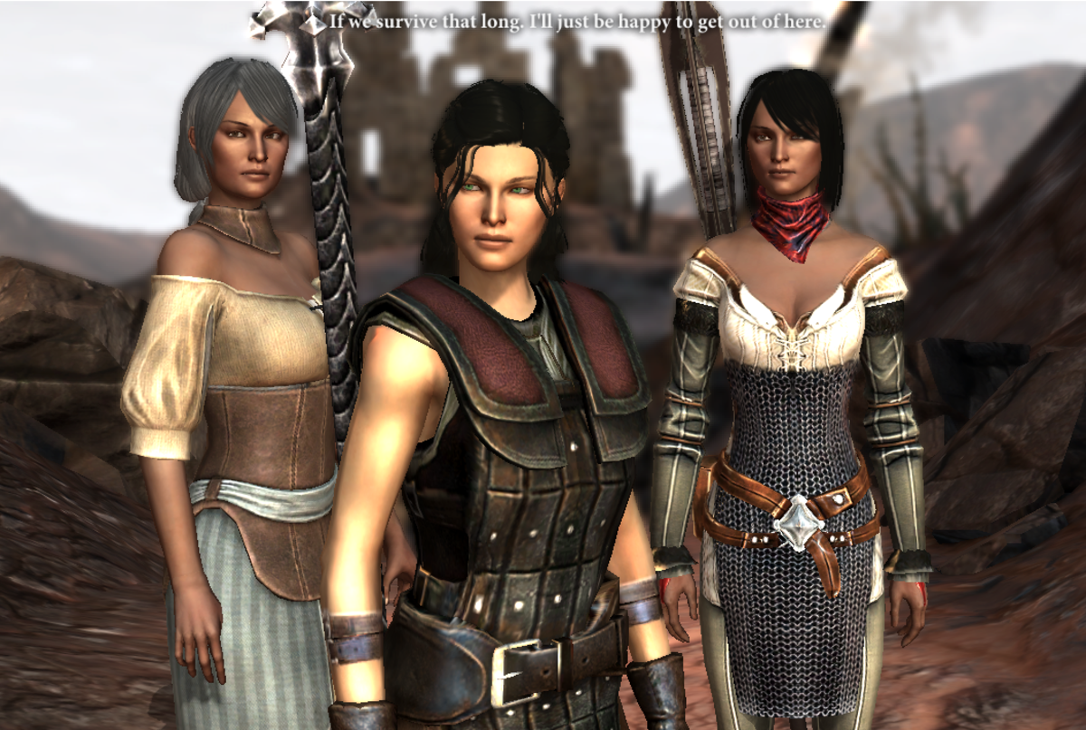 My Hawke glares at Carver's back.