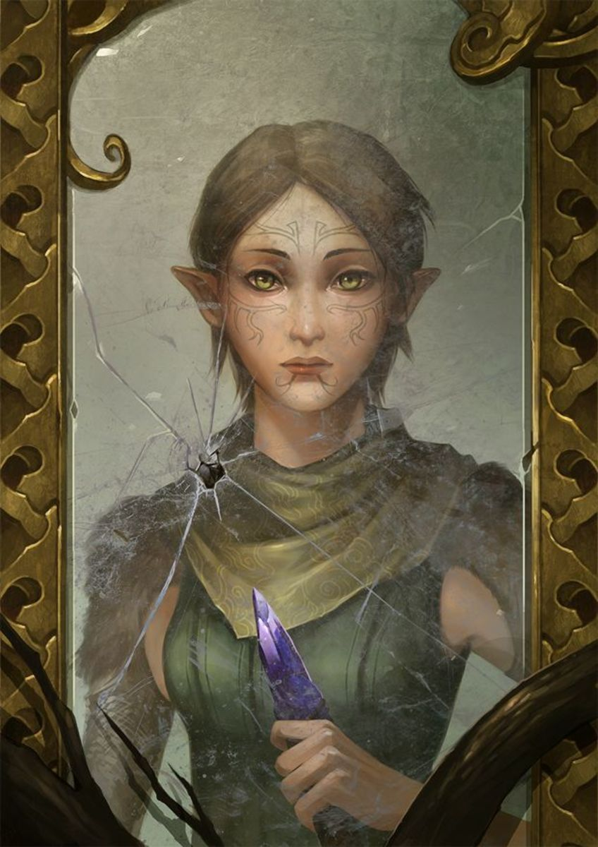 Beautiful Merrill fan art.