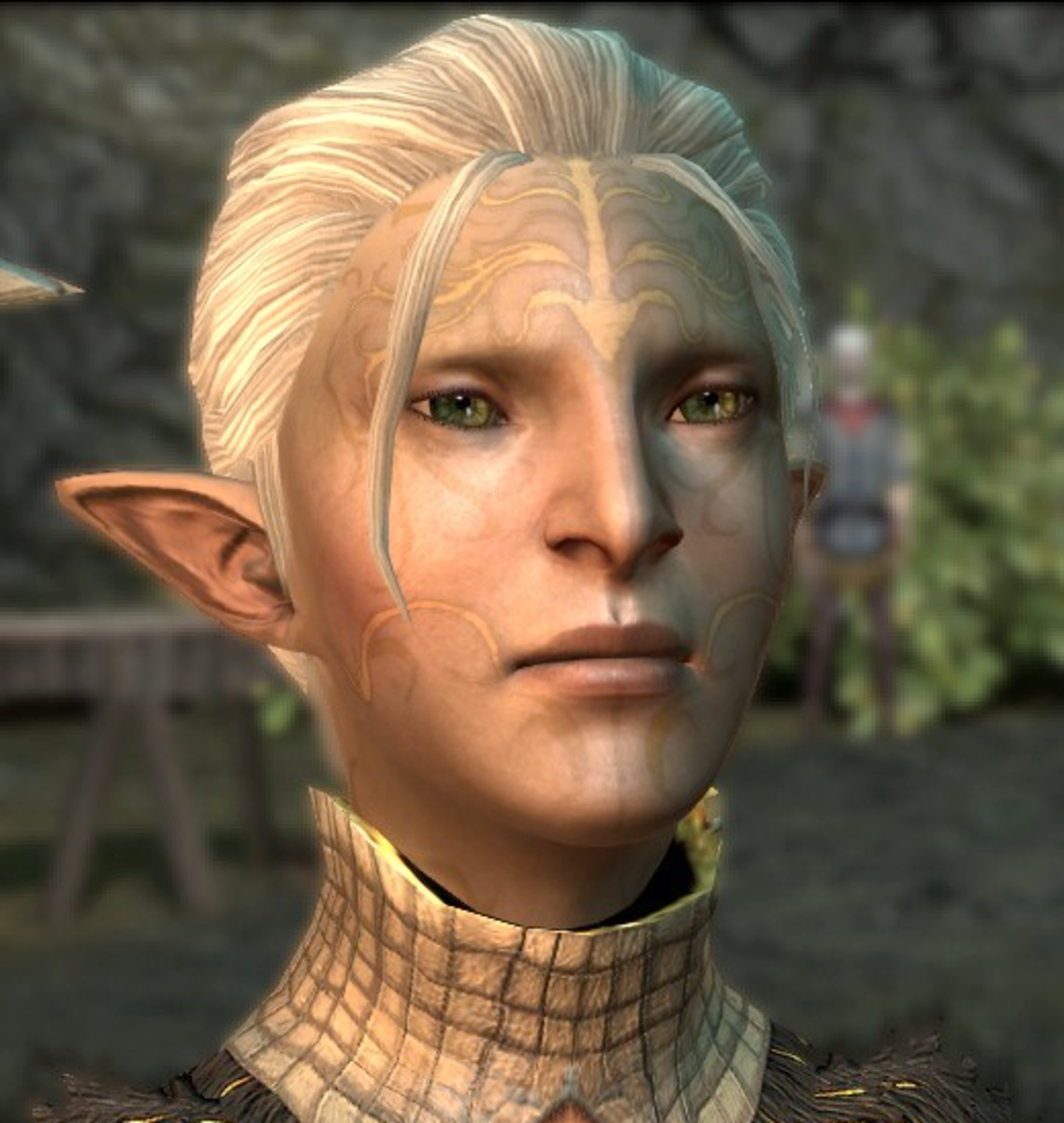 "Marethari as she appeared in ""Dragon Age 2."""