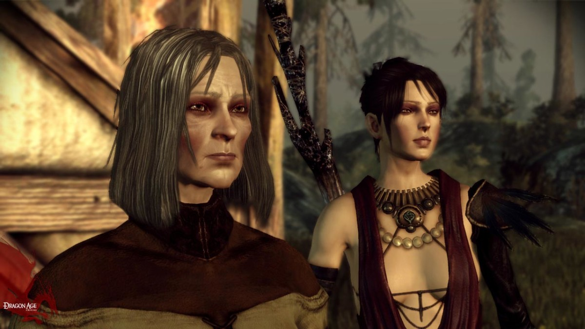 "Flemeth as she appeared in ""Dragon Age: Origins."""
