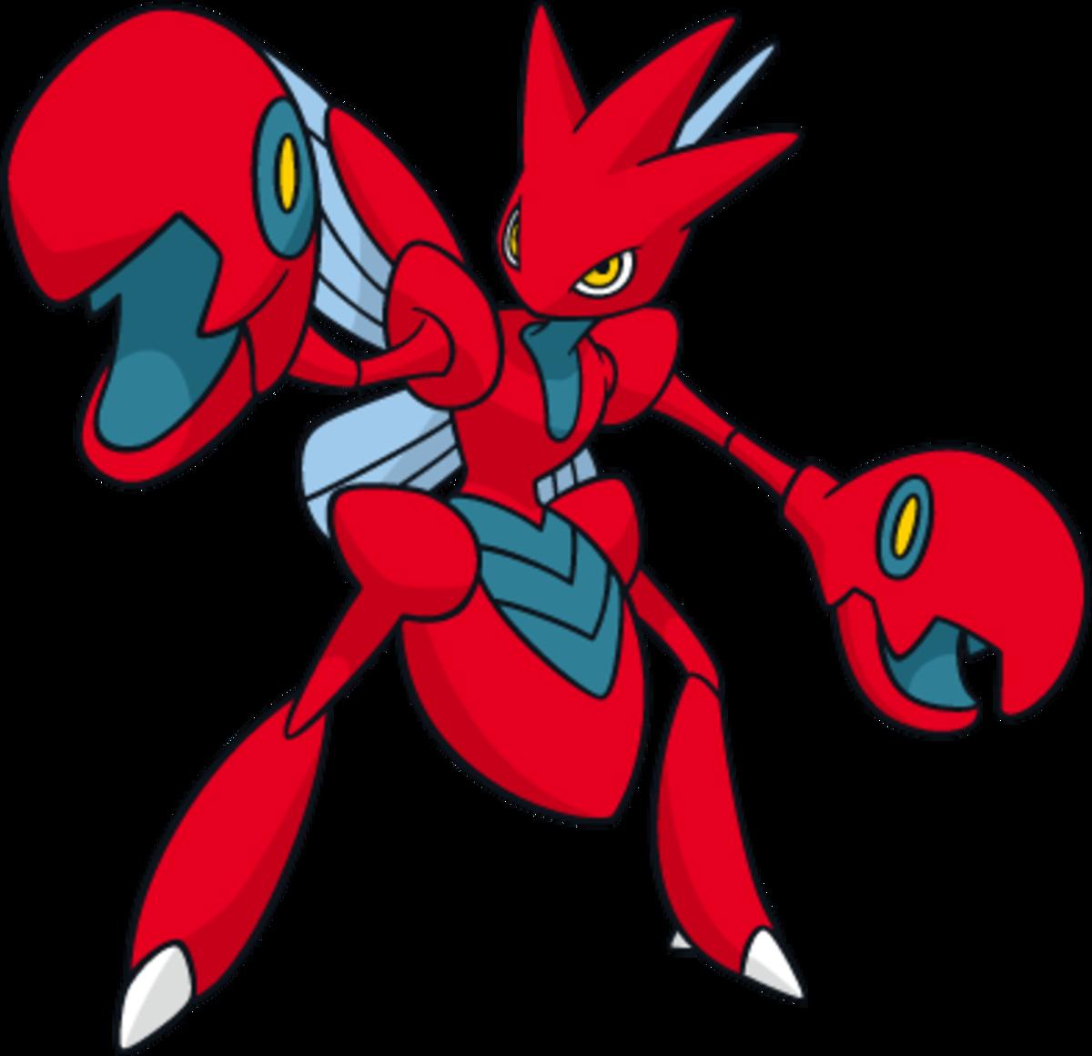 "Scizor, the ""Pincer"" Pokémon"