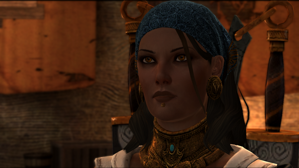 "Isabela as she appeared in ""Dragon Age 2."""