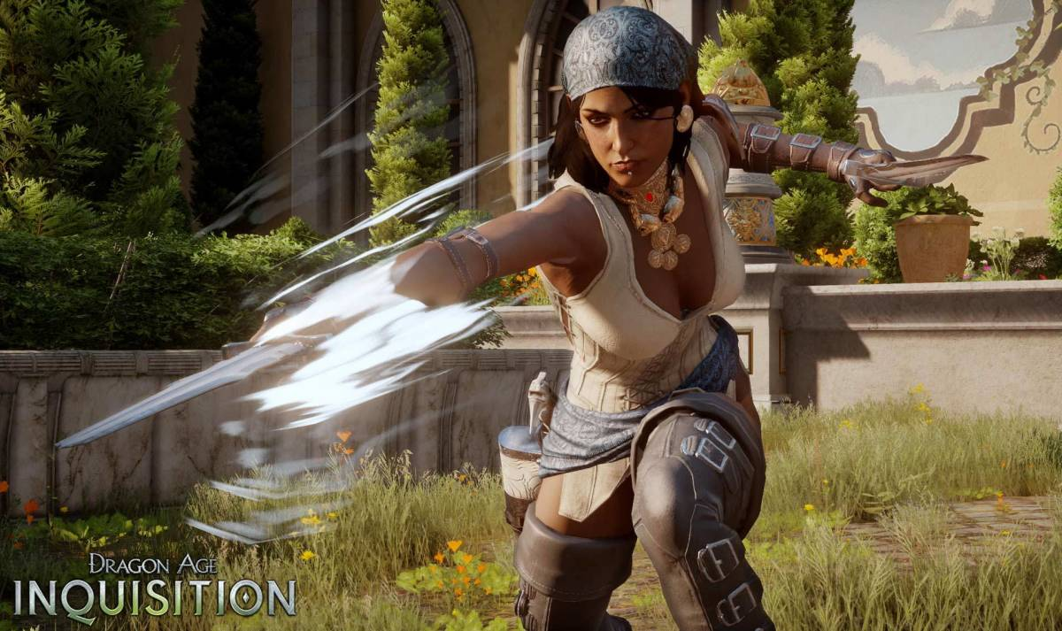 "Isabela in ""Inquisition's"" multiplayer."