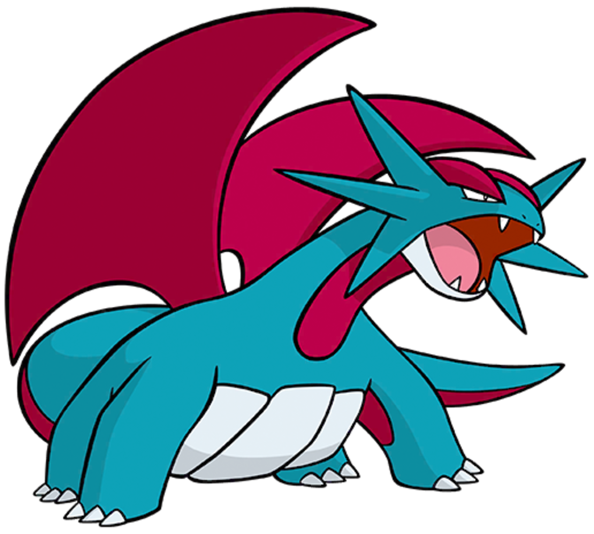 "Salamence, the ""Dragon"" Pokémon"