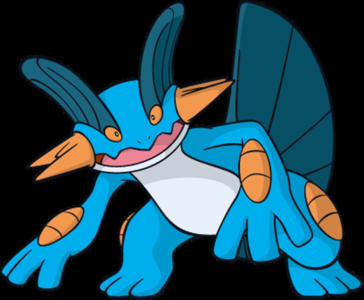 "Swampert, the ""Mud Fish"" Pokémon"
