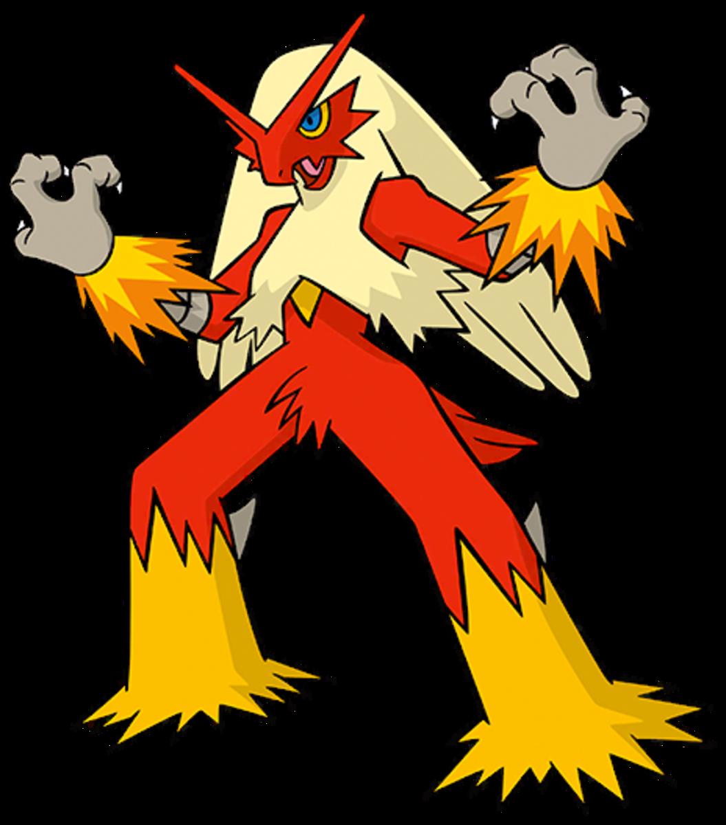 """Blaziken, the """"Blaze"""" Pokémon"""