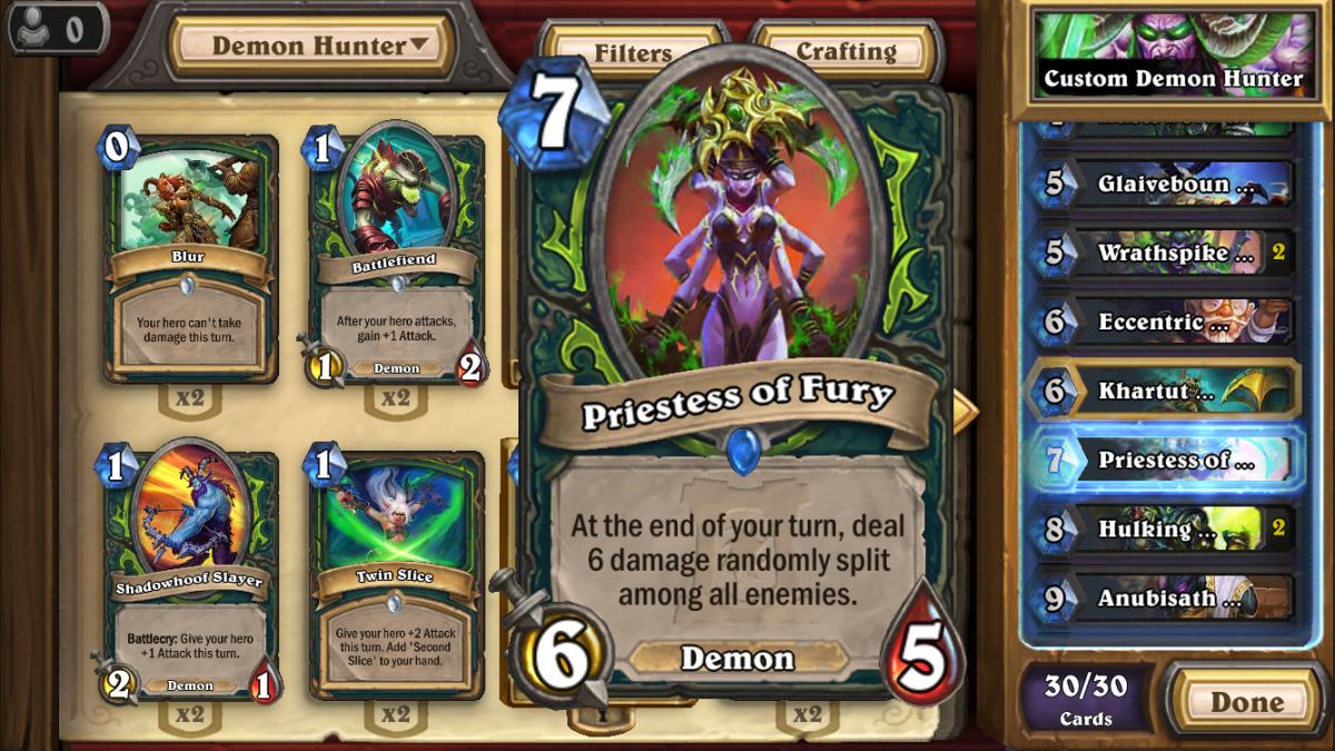 Priestess of Fury