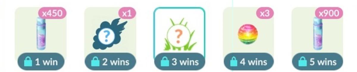 The Basic Set rewards for Rank 3.