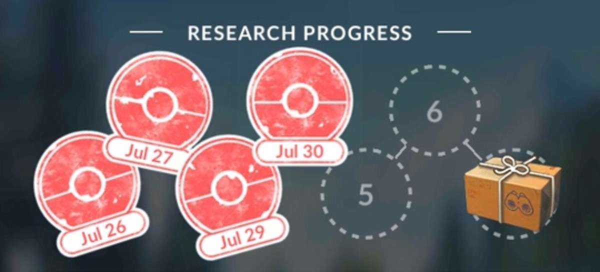 Collect seven daily research task stamps to unlock a Research Breakthrough.