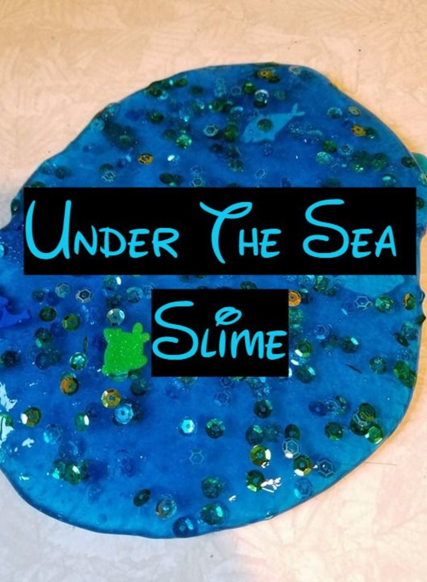 "How to Make ""Under the Sea"" Slime"
